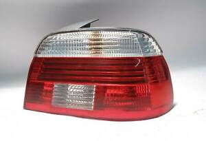 BMW E39 5-Series Right Rear Tail Light Lens White Clear 2001-2003 USED OEM