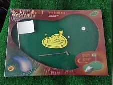 Golf Putting Green Hole In One Fun 3D Mouse Pad With Flag Putter and Balls NEW