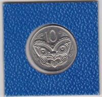 10 cents Neuseeland 1980 Maori mask koruru NZL New Zealand