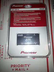 New Sealed PIONEER CD-SB10 Sirius Satellite Radio Adapter Bus  CDSB10