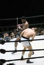 Old Boxing Photo Floyd Patterson Throws A Punch Against Ingemar Johansson