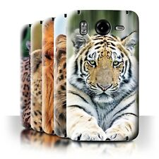 STUFF4 Back Case/Cover/Skin for HTC Desire HD/G10/Wild Big Cats