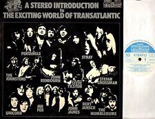 THE EXCITING WORLD OF TRANSATLANTIC various LP EX/EX 2870 315 folk uk 1972