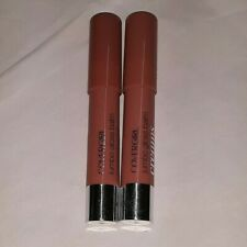 2 tube lot COVERGIRL JUMBO LIP GLOSS BALM CREAMS 280 CREME CARAMEL uns tip flaws