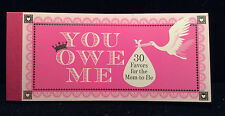 NEW You Owe Me Mom-to-Be Favors Book