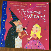 The Princess and the Wizard by Julia Donaldson Glitter Pages Paperback Book 2007