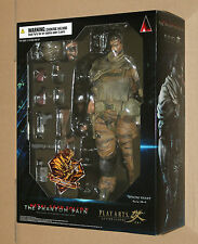 Metal Gear Solid V Action Figure Play Arts Kai Venom Snake Gold Tiger Version