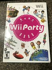 Wii Party (Nintendo Wii, 2010) Complete w/ Manual - Tested & Cleaned - Free Ship