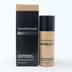 Bareminerals Bareskin Pure Brightening Serum Foundation .5oz Bare Natural 07 New