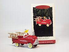 Hallmark Ornament 1995 Kiddie Car Classics #2 - Murray Fire Truck - #Qx5027-Sdb