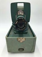 Vintage ARGUS 300 35mm Slide Projector In Case W/ f/3.5 Lens – Tested & Working