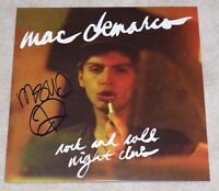 MAC DEMARCO SIGNED ROCK AND ROLL NIGHT CLUB ALBUM VINYL RECORD W/COA SALAD DAYS