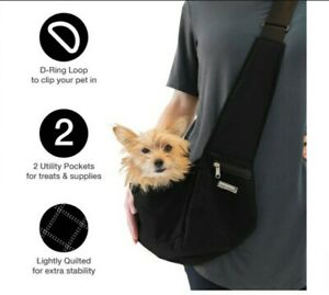 Cloak & Dawggie Pet Carrier Mini Sport Sling Bag for Small Dog & Cat Travel New