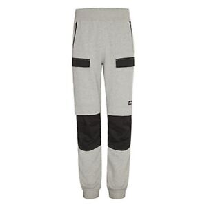 SITE MALAMUTE MEN'S GREY JOGGERS PADDED WORK TROUSERS M OR L NEW
