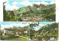SALUTI DA CLAUT - VEDUTINE (PORDENONE) 1967