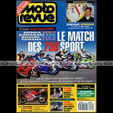 MOTO REVUE N°3121 MUZ 500 KAWASAKI ZXR 750 SUZUKI GSX-R HONDA VFR YAMAHA YZF 250