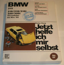 Reparaturanleitung BMW 3er E21 315 316 318 318i 320 320i Vierzylinder, bis 1982