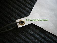 TYVEK ground cloth sheet 4X8 ft. W/ 4 Ultralight  GROMMET TABS