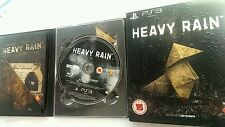 Heavy Rain Special Limited Edition excondition PS3 Quantic Dream
