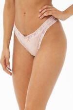 c655eb50b3b10 NEW Forever 21 Lingerie Women s Cheeky Lace-Trim PINK Panties XL 15   waist