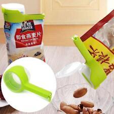 Storage-Bag Clip Keep Your Food Fresh Plastic Helper Saver Seal.Pour Sealer Tool