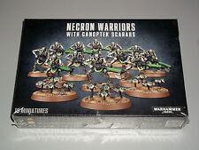 Warhammer 40K NECRON WARRIORS w/CANOPTEK SCARABS Box Set! New+Sealed!!