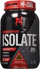 Cytosport Monster Whey Protein Isolate Supplement Mix, Chocolate Flavored, 2.2lb
