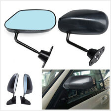 2 Pcs Manual Adjustable F1 Style Carbon Fiber Color Car SUV Side Rearview Mirror