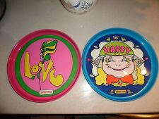 New listing 2 Vintage Peter Max Trays Beer Trays