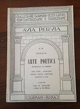 D11> COLLEZIONI SORMANI - AVIA PERVIA - N.32 - ARTE POETICA