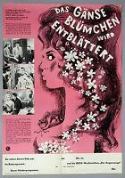 DDR Kinoplakat Progress>Das Gänse Blümchen wird entblättert<Brigitte Bardot #766