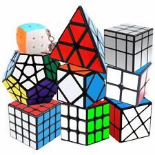 Coolzon Speed Cube Rubiscube Ensemble de Cubes 2x2 3x3 4x4 Paquet 9
