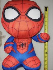 """NWT Marvel Comics Spider-Man 14"""" Super Soft Plush with Oversized Head CUTE!"""