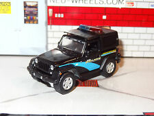 2012 JEEP WRANGLER POLICE VEHICLE 1/64 SCALE DIORAMA DIECAST COLLECTIBLE PF