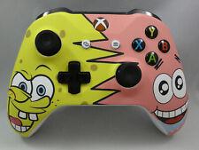 Xbox One S Spongebob Patrick Wireless Controller - Yellow LED Rapid fire Modded
