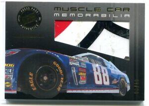 2013 Press Pass Redline Muscle Car Gold Dale Earnhardt Jr. Sheet Metal 3/10