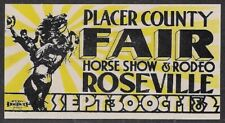 USA 1940s Cinderella: Placer County Fair Horse Show & Rodeo, Roseville - dw21z