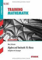 Training Mathematik Mittelstufe / Algebra und Stochastik... | Buch | Zustand gut