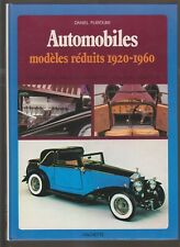 AUTOMOBILES  - MODELES REDUITS 1920-1960
