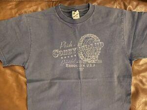 Phish 2004 Dry Goods Coney Island Shirt: Size Large