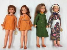 Lot Of 4 VINTAGE IDEAL CHRISSY DOLL GROWING HAIR Original Clothes Shoes