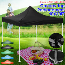 10x10ft Waterproof Top Cover Replacement UV Canopy Roof Sunshade Garde