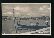 Italy Venice VENEZIA IL Molo c1920/30s? RP PPC