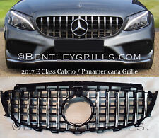 Mercedes E Class W213 C238 Grill E63 Look Coupe Cabrio Panamericana GTS AMG Look