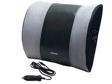 Lower Back Lumbar Support Cushion Heating Pad Chair Office Pillow Heat Massage