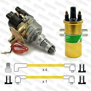 Sports Mini Metro A+ 59D Electronic Distributor, Sports Coil & Yellow HT Leads