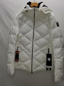 Descente Anabel Insulated Womens Snow Ski Jacket SPW Winter White Sz 10 NEW