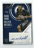 2016 Absolute Football Malcolm Mitchell AUTO RC, Rook Ink SP #/250, Patriots!