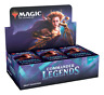 Magic COMMANDER LEGENDS SEALED Draft Booster Box NEW MTG SHIPS NOW