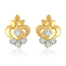 Mahi Gold Plated Appealing Art Earrings with CZ for Women ER1103744G